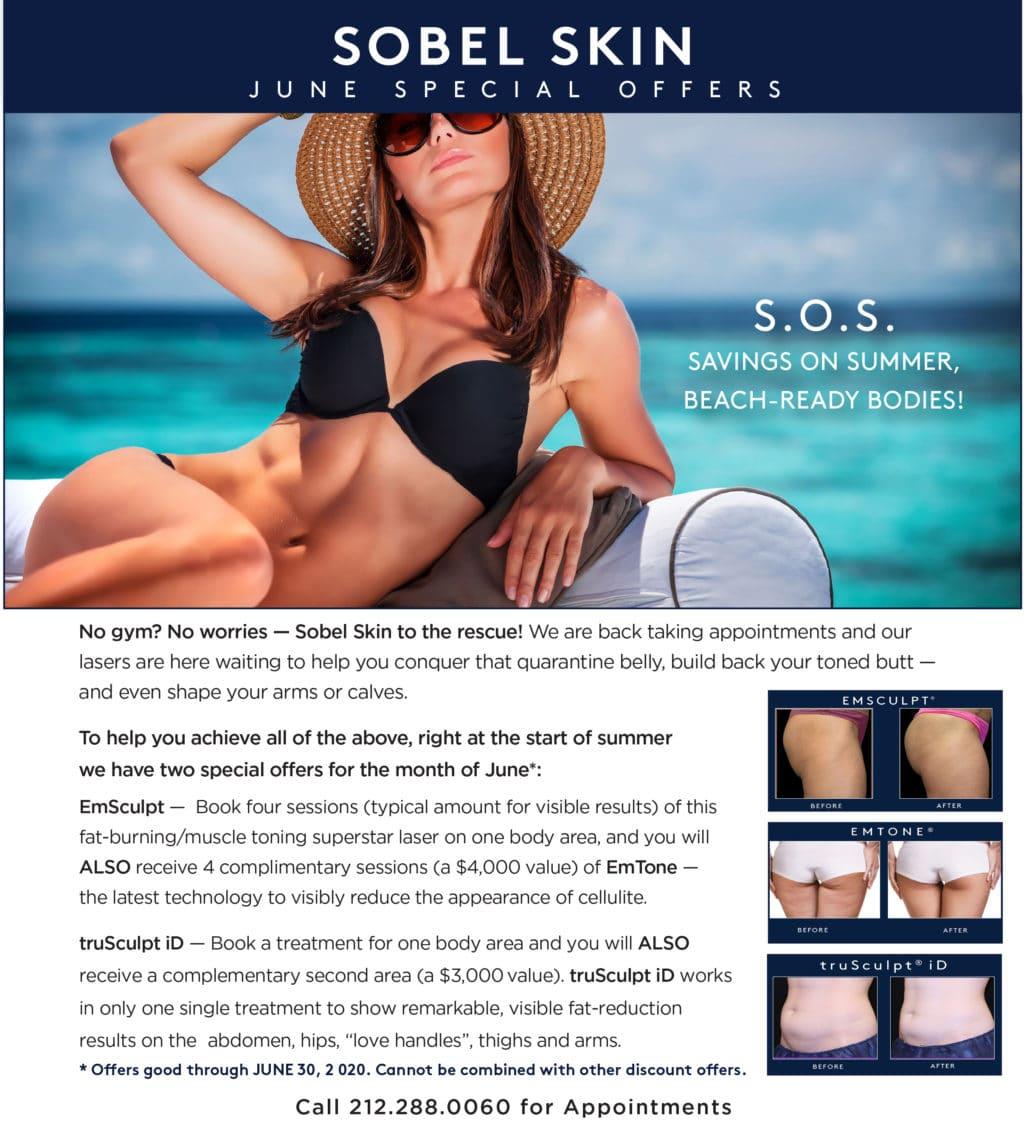 June Special | Sobel Skin